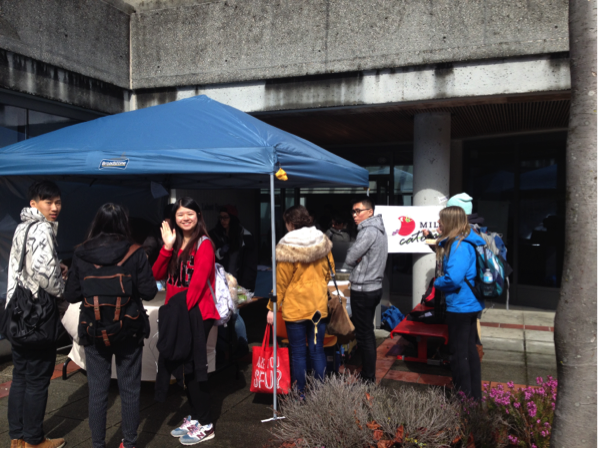 SFU Students Buying 100 Mile Catering Food